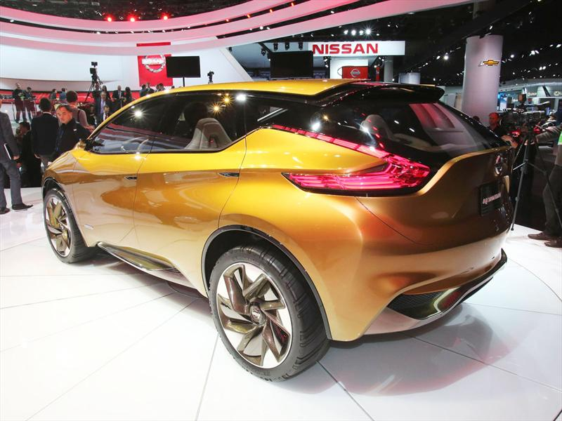Nissan Resonance Concept en vivo