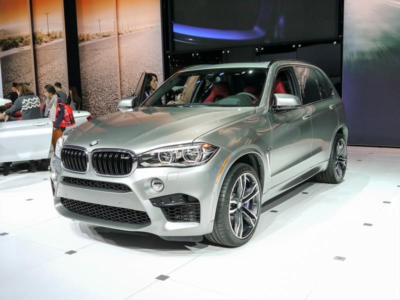 BMW X5 M y X6 M 2015