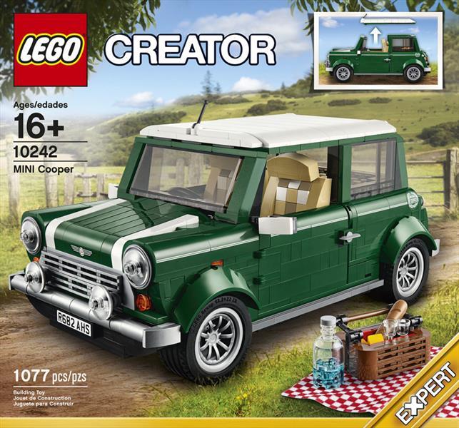 Mini Cooper creado por Lego