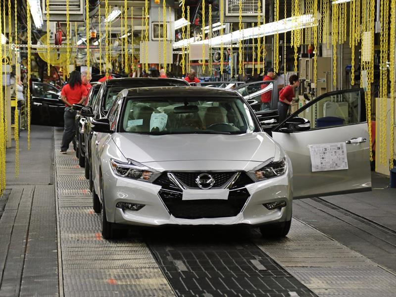 Producción Nissan Maxima 2016