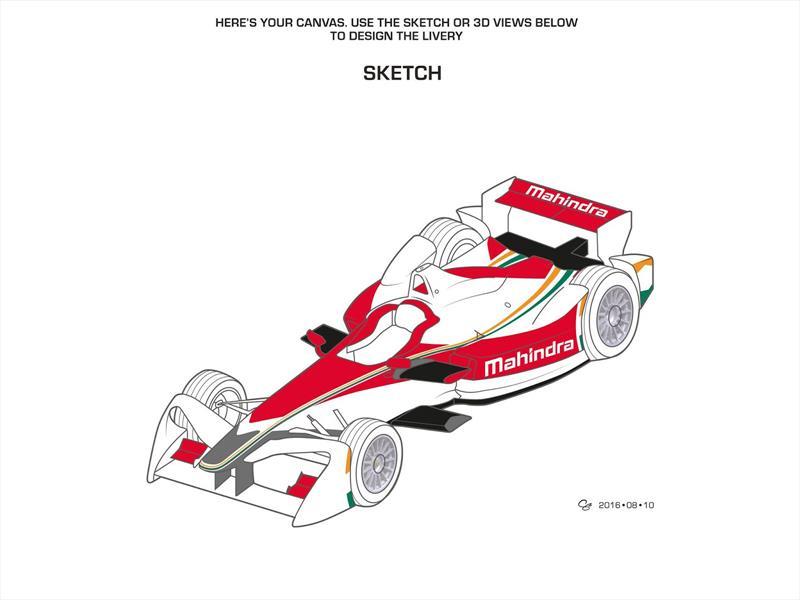 Concurso de diseño de Mahindra Racing