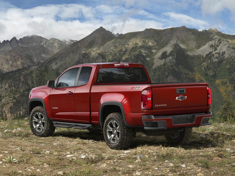 Chevrolet Colorado Z71 Trail Boss 2015