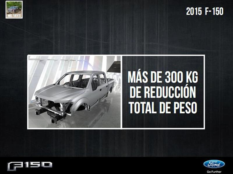 Ford F-150 2015 Datos claves