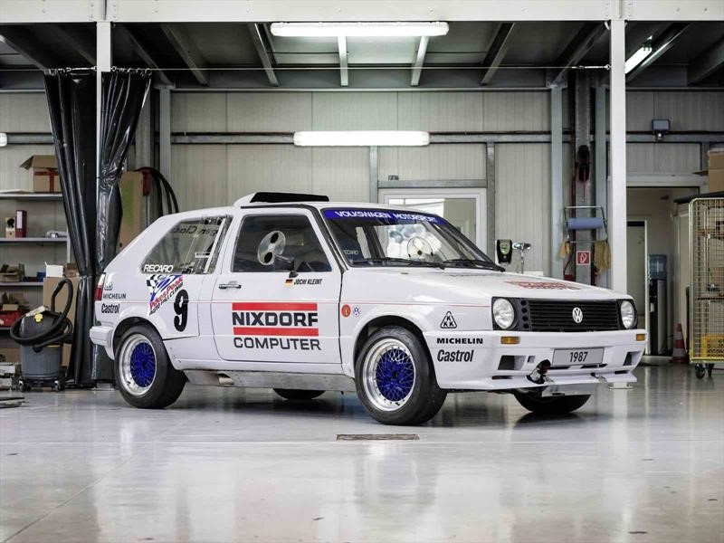 "Volkswagen Golf 1987 con ""doble motor"""