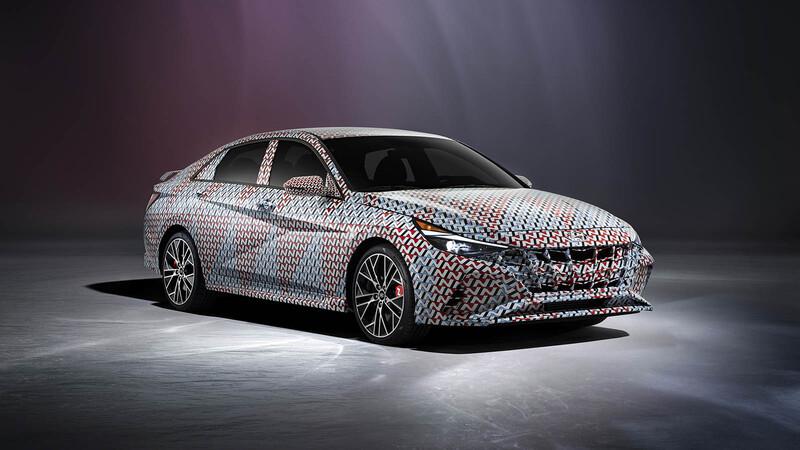 Hyundai Elantra N 2022 - Teasers