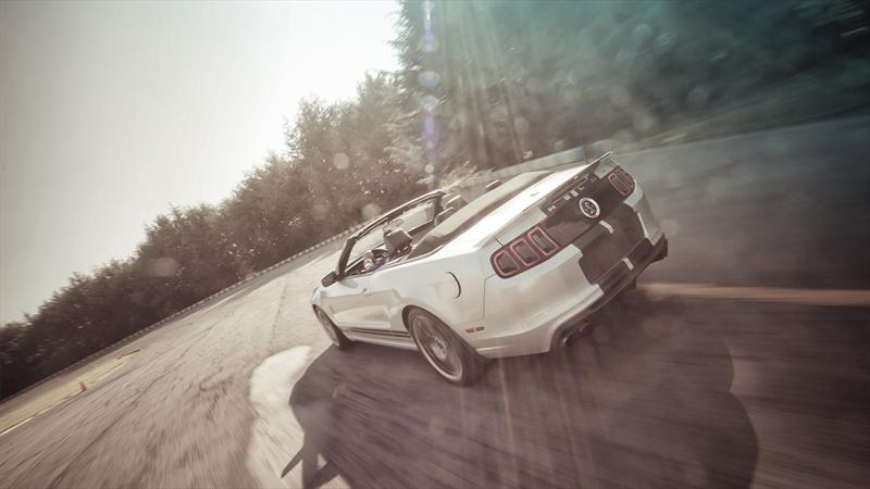Super Prueba Mustang Shelby GT500 Convertible 2013