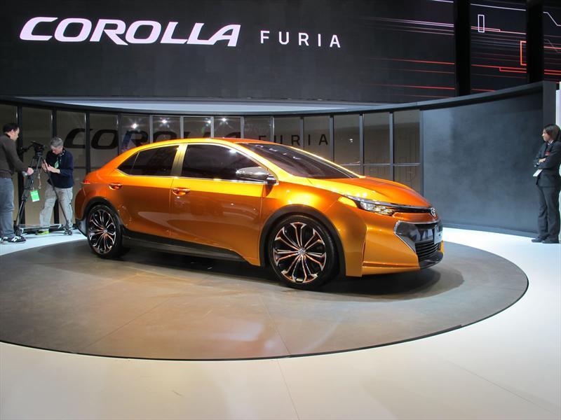Toyota Corolla Furia Concept en vivo