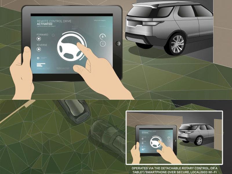 Tecnologías Land Rover Discovery Vision Concept