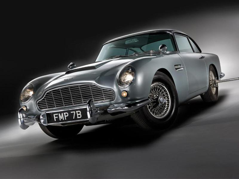 Top 10: Aston Martin DB5 de Bond