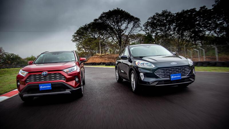 Ford Escape Híbrida VS Toyota RAV4 Híbrida prueba