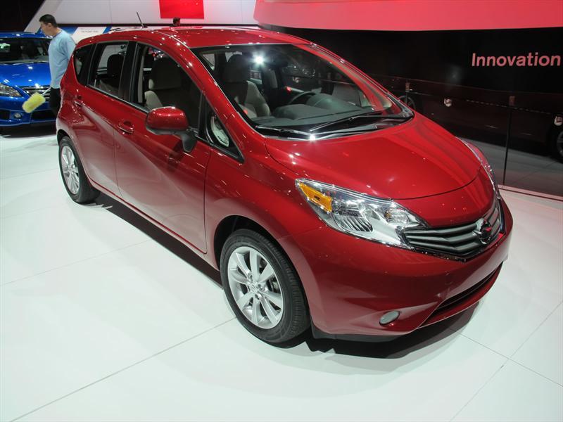 Nissan Note Versa en Detroit 2013