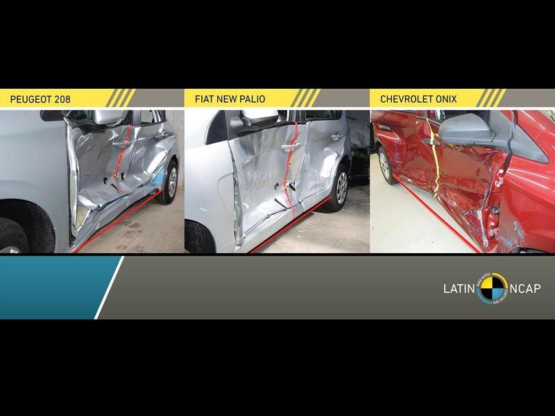Latin NCAP prueba al Chevrolet Onix