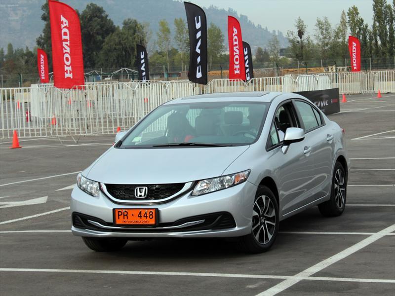 Honda Civic 2013 Lanzamiento en Chile