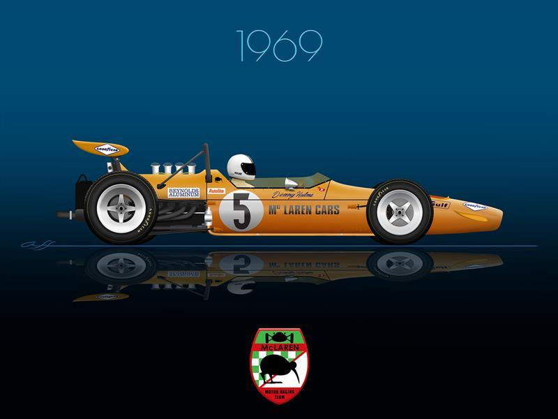 Ganadores GP de México 1969