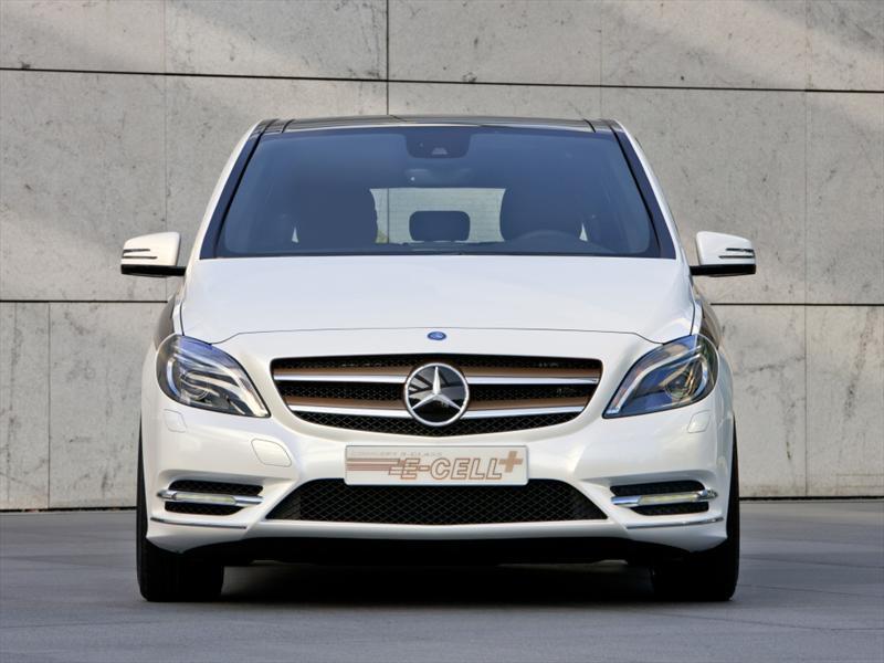 Mercedes-Benz Clase B E-Cell Plus Frankfurt 2011