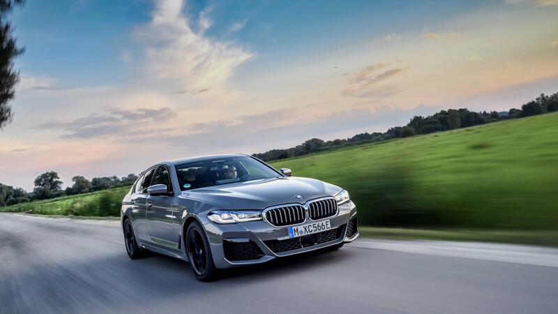 BMW 545e xDrive 2021