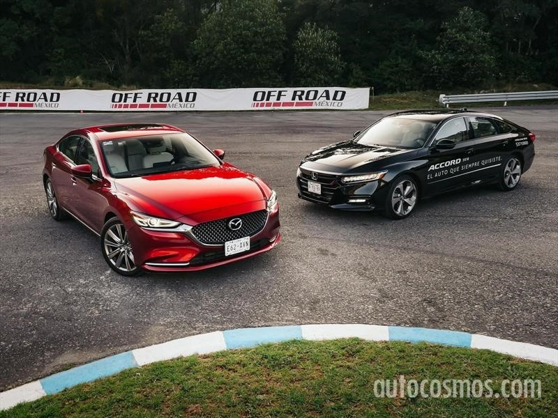 Frente a Frente: Honda Accord 2018 vs Mazda 6 2019