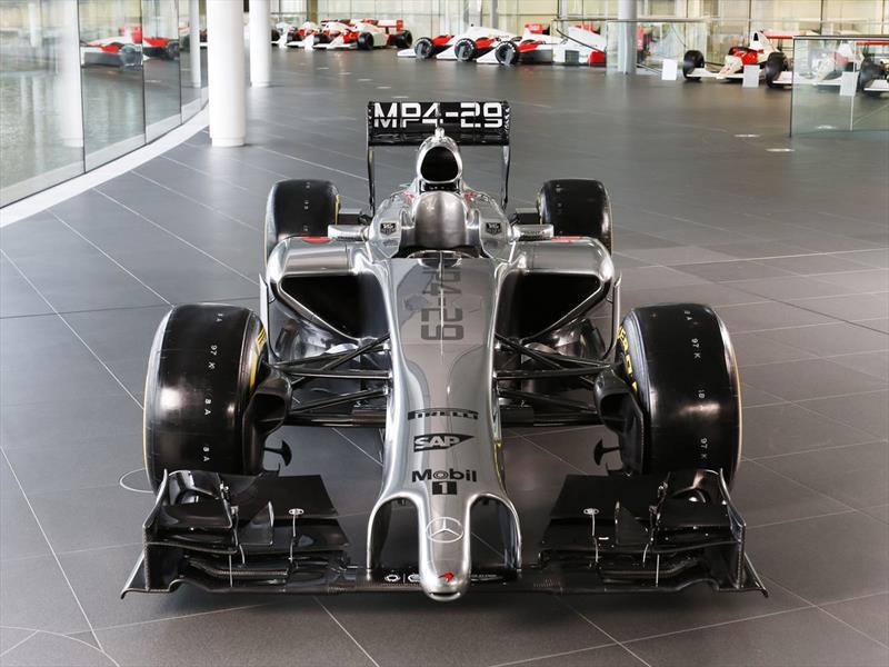 F1 McLaren MP4/29 2014