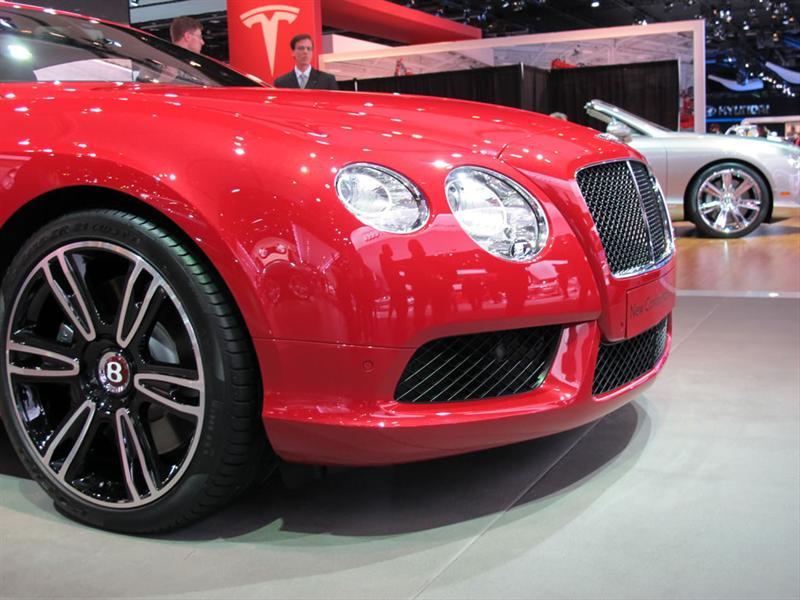 Bentley Continental GT V8 2012 en Detroit