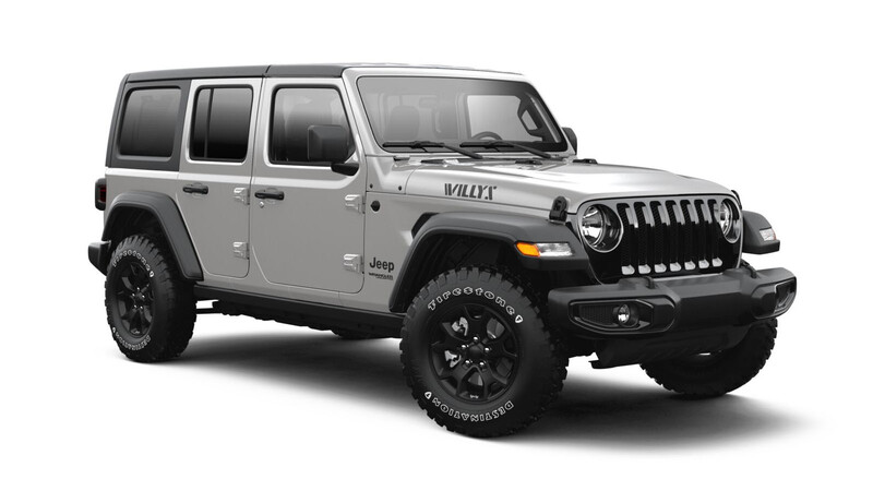 Jeep Wrangler edición Willys 2021
