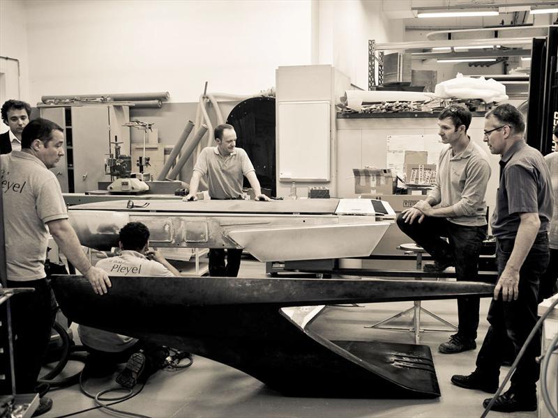 Peugeot y Meyer construyen un piano futurista