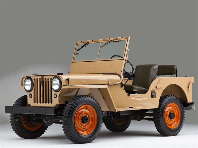Jeep CJ-2A 1945-1949
