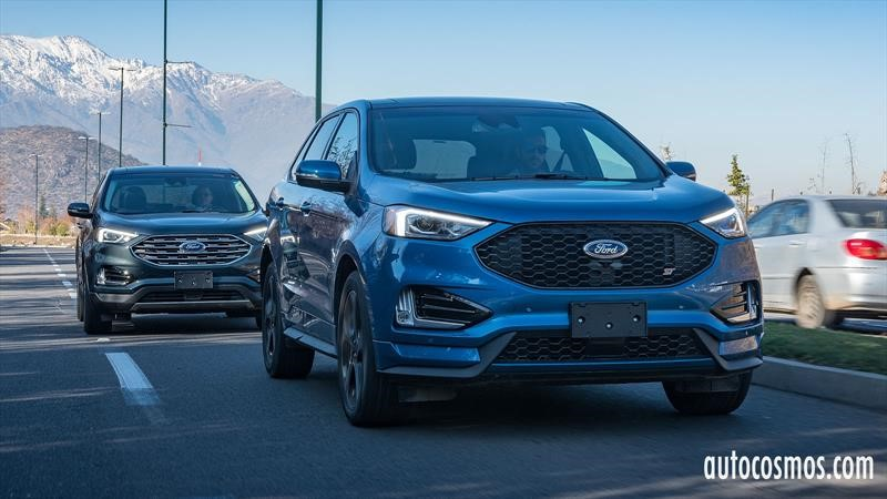 Test Drive Ford Edge 2019