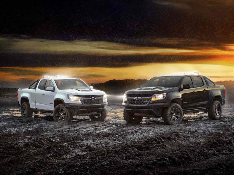 Chevrolet Colorado ZR2 Dusk y ZR2 Midnight