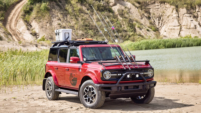 Ford Bronco 4P Outer Banks Fishing Guide Concept
