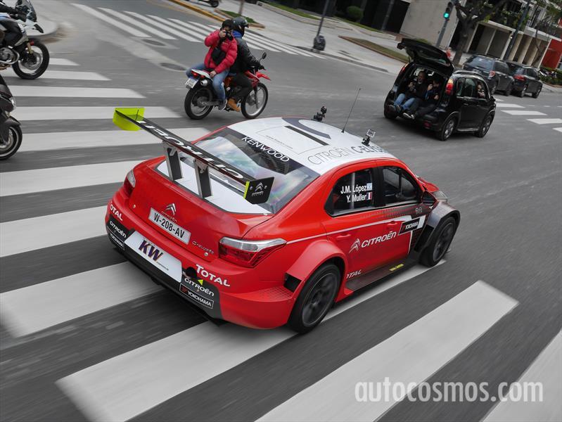 Citroën C-Elysée Tour Buenos Aires