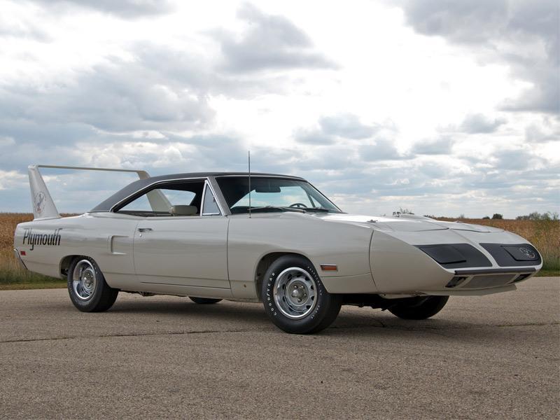 Top 10: Plymouth Roadrunner Superbird 1970