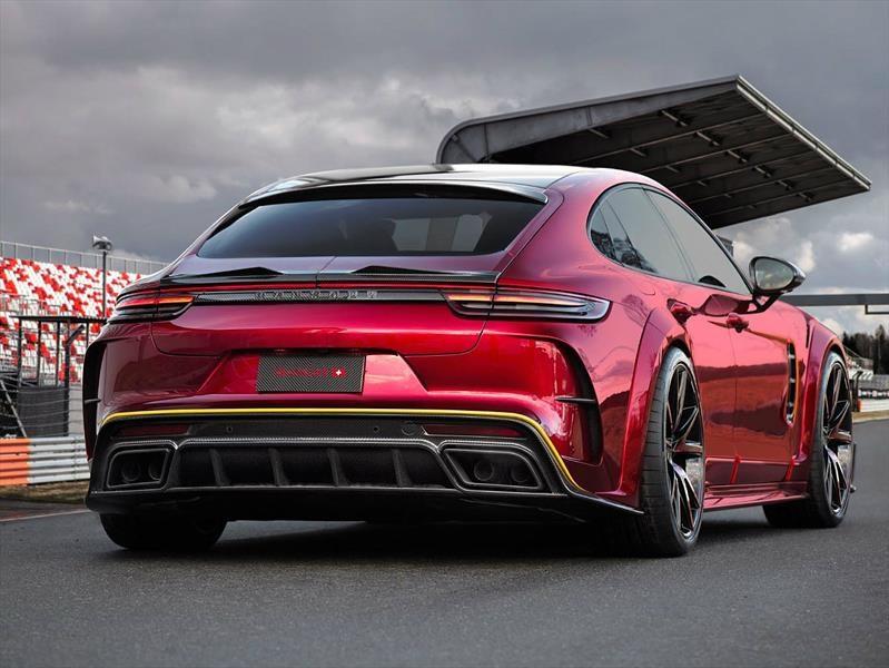 Porsche Panamera por Mansory