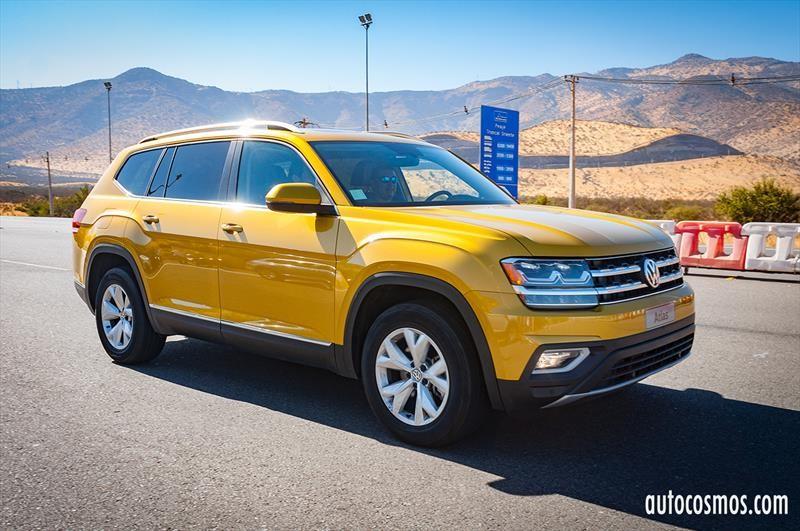 Volkswagen Atlas 2018 - Lanzamiento en Chile