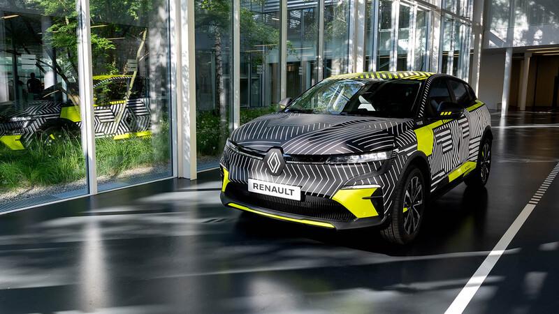 Renault Megane E-Tech - Preproducción
