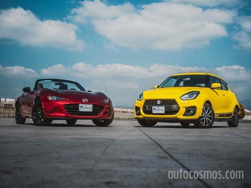Mazda MX-5 Vs Suzuki Swift Sport