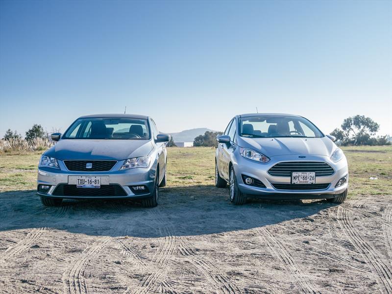 SEAT Toledo vs Ford Fiesta Sedán