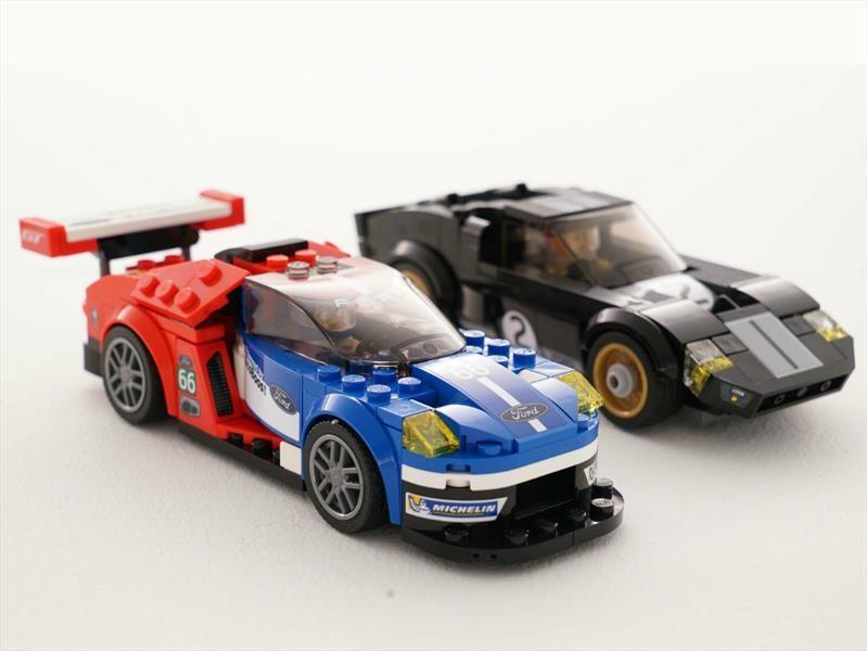 Ford GT 2016 y GT40 1966 de Lego