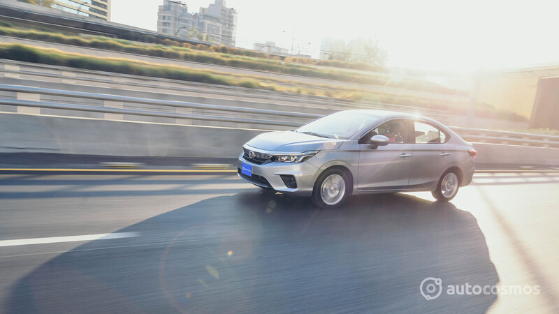 Honda City 2021 a prueba