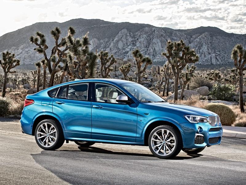 BMW X4 M40iA 2016