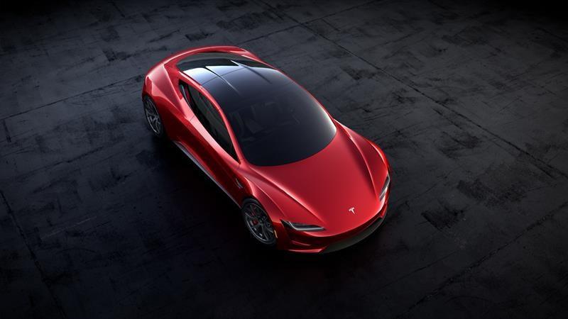 Tesla Roadster 4.0 2020