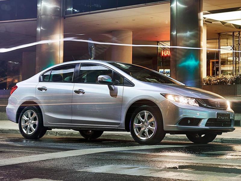 Honda Civic, restyling 2015