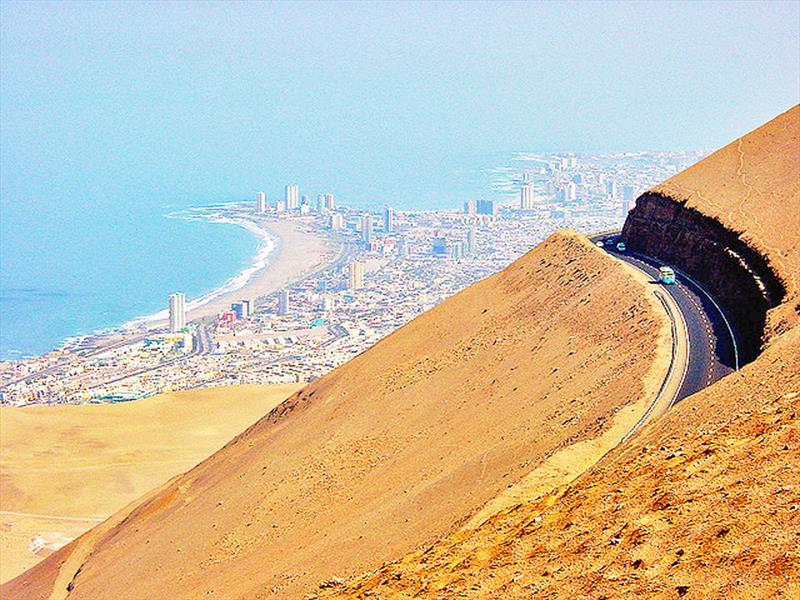 Top 10 Ruta 5 Arica Iquique - Chile