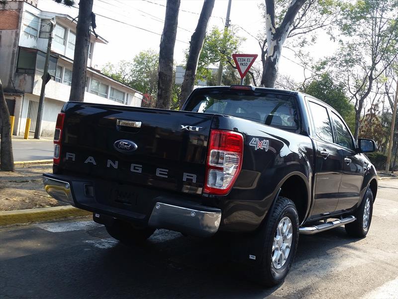 Ford Ranger 2017 espiada en México
