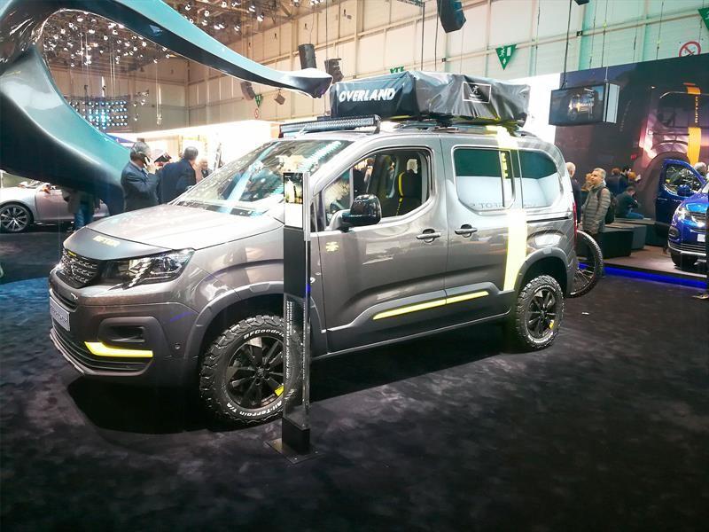 Peugeot Rifter 4×4 Concept
