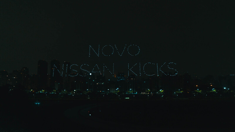 Nissan Kicks en el cielo de Brasil
