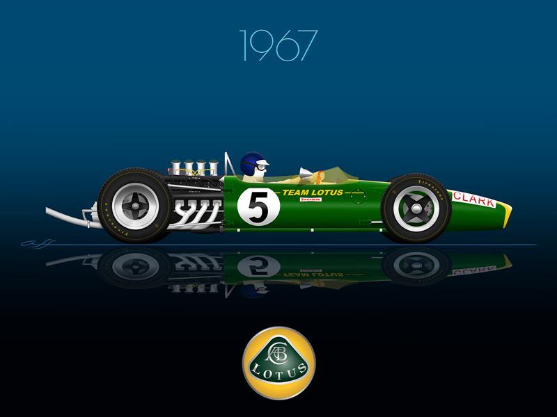 Ganadores GP de México 1967