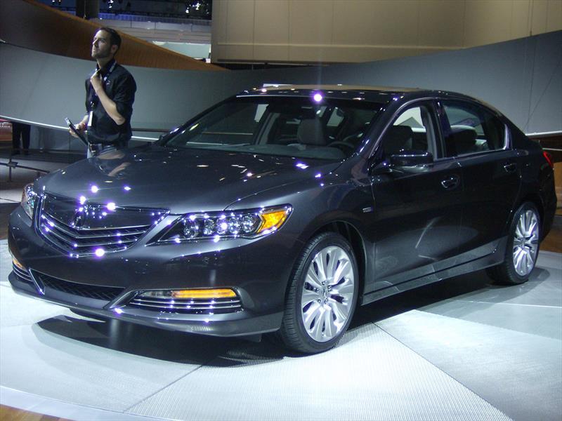 Acura RLX Sport Hybrid SH-AWD 2014
