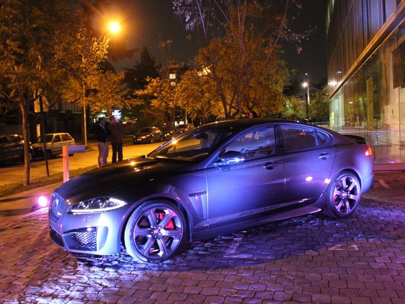 Jaguar XFR-S Lanzamiento en Chile