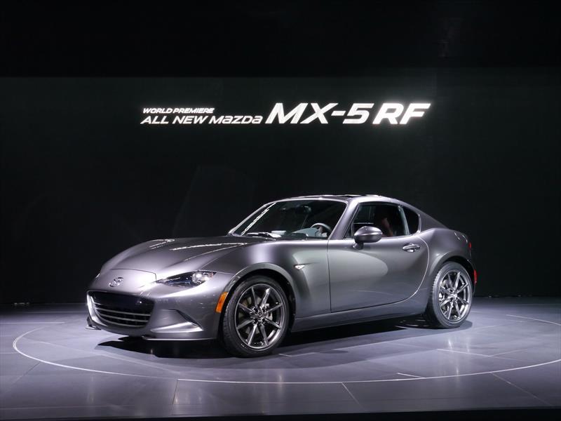Mazda MX-5 RF - Salón de Nueva York