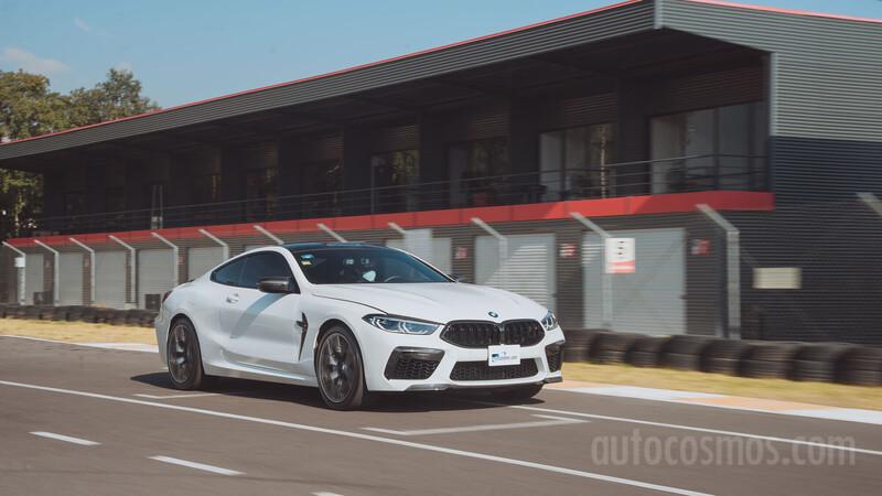 BMW M8 Competition a prueba